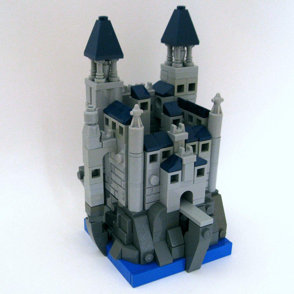 Bluewater Castle Cool Lego Creations Micro Lego Lego Design