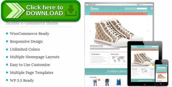 Free nulled Titania - Flexible eCommerce Shop Theme download