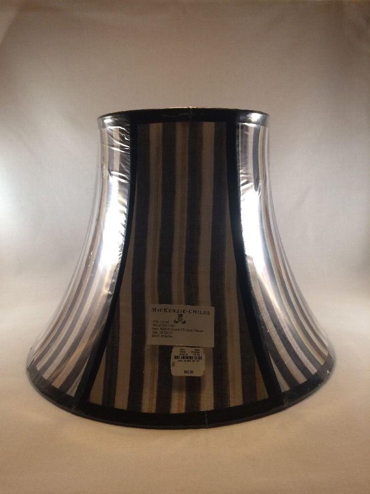 Mackenzie childs medium courtly stripe lamp shade mackenziechilds mackenziechilds
