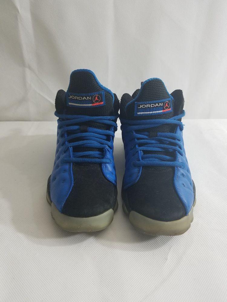 ba81f3edc081 Air Jordan Jumpman Team II 2 GS BG Youth Size 6.5Y Blue Black 861435-400   Jordan  Athletic