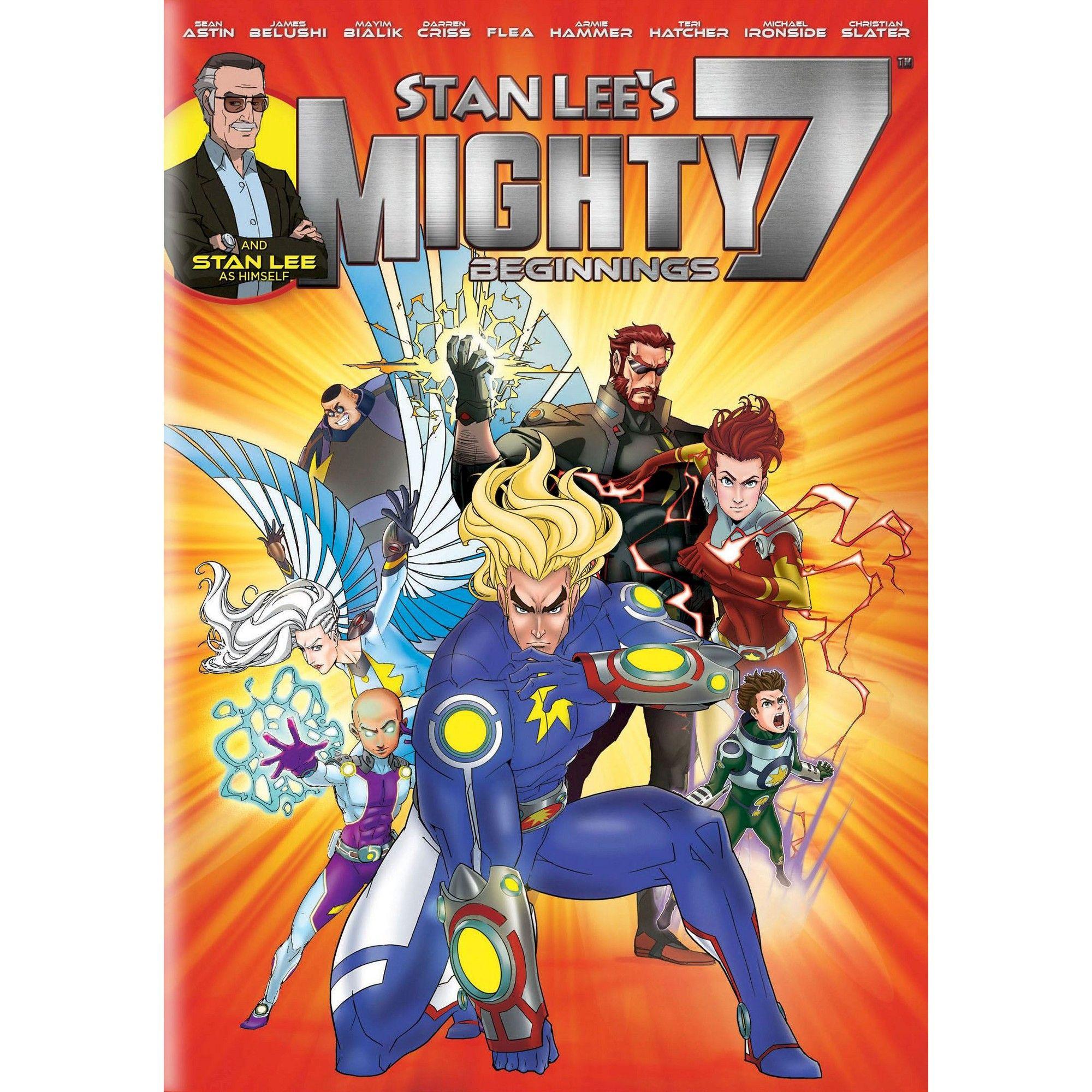 Stan Lee's Mighty 7 Beginnings (DVD) Animated cartoons