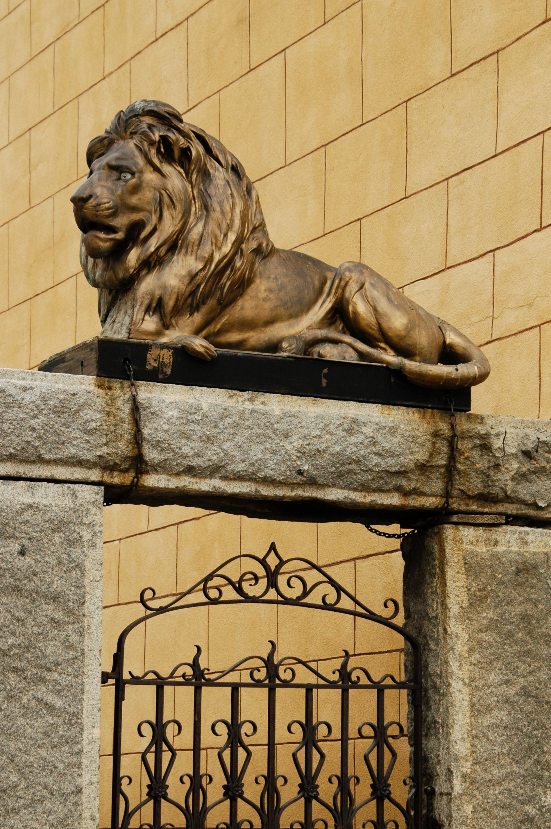 sitting lion sculpture google search art series idea reclining lion statue