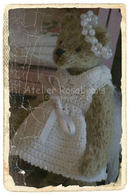 Christmas girl. http://rosabears.blogspot.com/