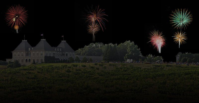 how chateau élan fireworks should look.  my photoshop rendition