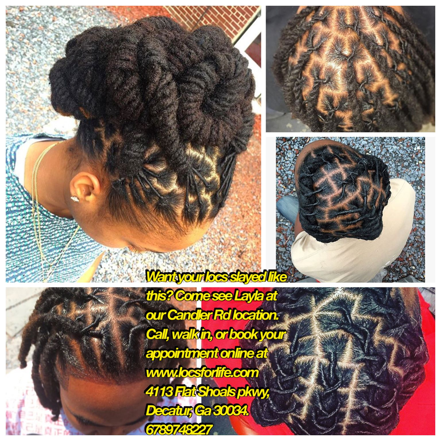 Pin by locsforlife salonuone on locs for life styles pinterest locs
