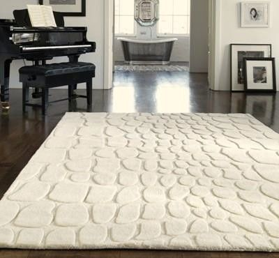 Croco Cream Wool Rugs Online At Modern Uk Hac