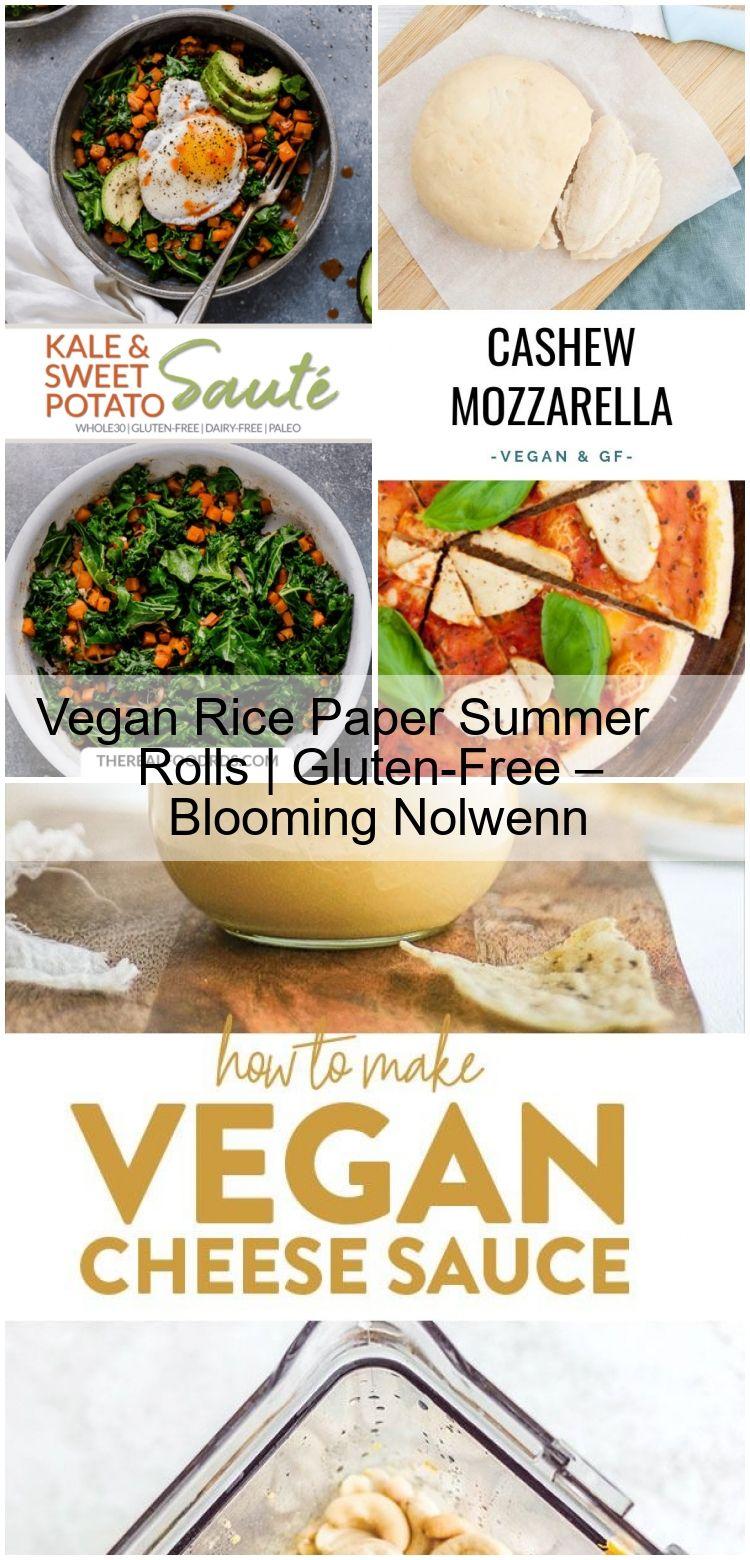 Vegan Rice Paper Summer Rolls en 2020 (avec images