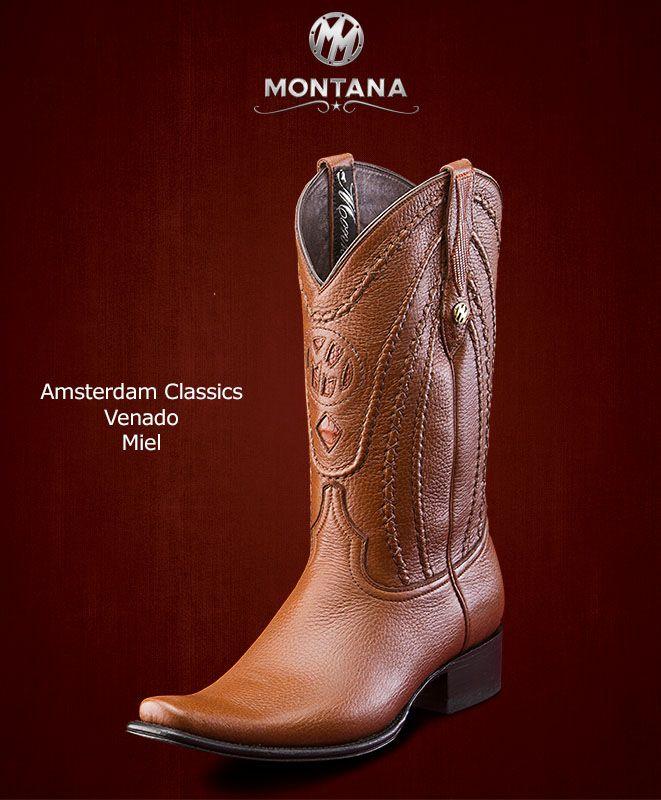 diseño exquisito Descubrir descuento especial Montana #Botas #AmsterdamClassics #Venado #Modelo AM103VN ...