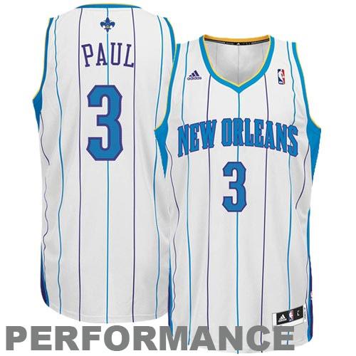 ... GearCloset.net - adidas Chris Paul New Orleans Hornets Revolution 30  Swingman Performance Jersey- ... 3f2de395a