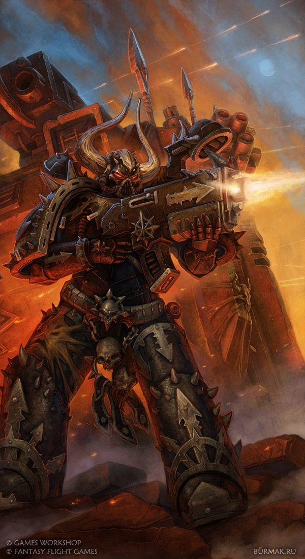 Black Legion | Warhammer 40k, Warhammer art, Space marine