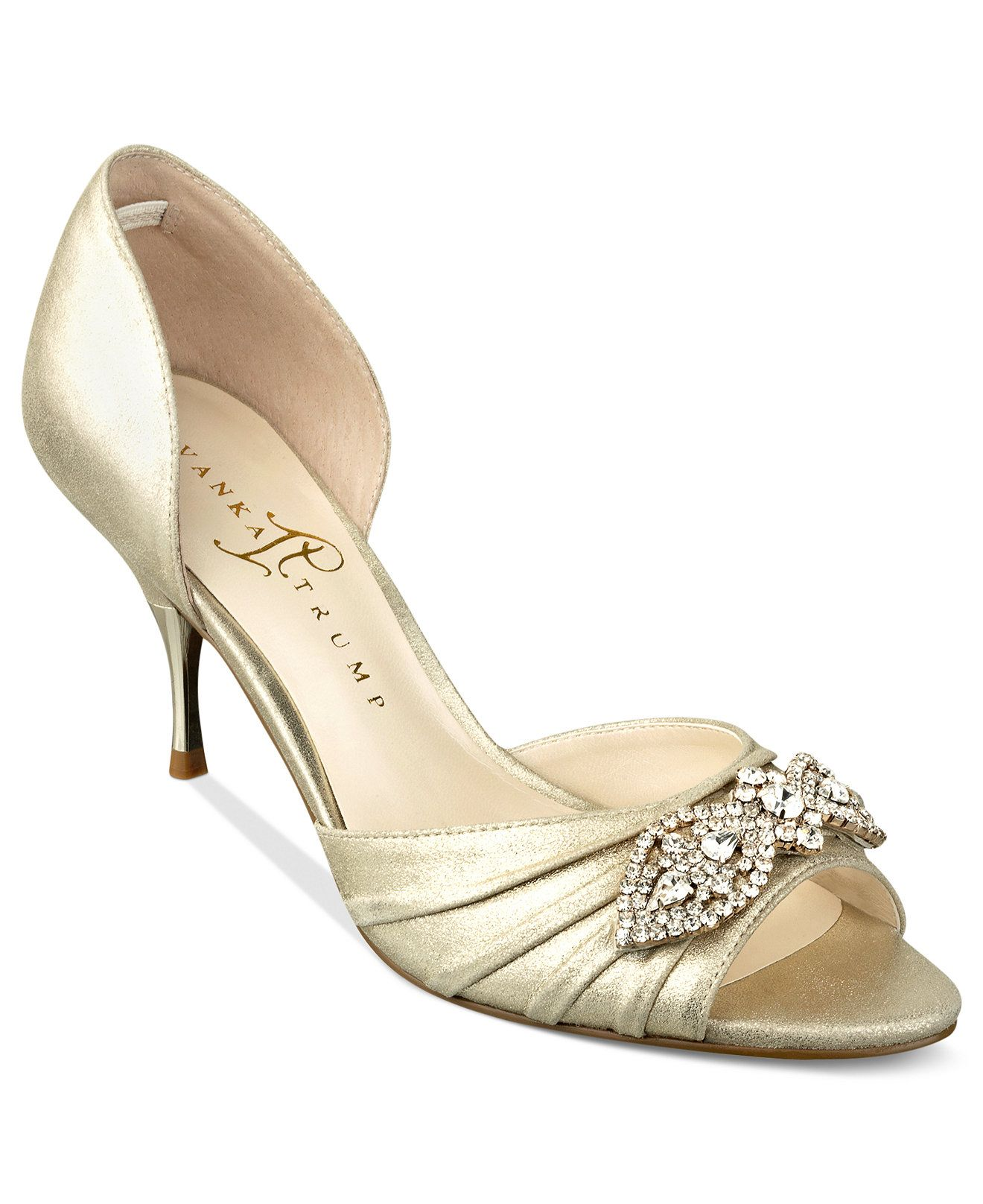 92800dbc50a Ivanka Trump Nanci Evening Pumps - Evening   Bridal - Shoes - Macy s ...