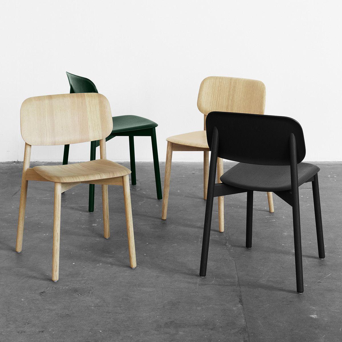 Hay soft edge 12 stuhl eiche matt lackiert in 2019 for Stuhle esstisch holz