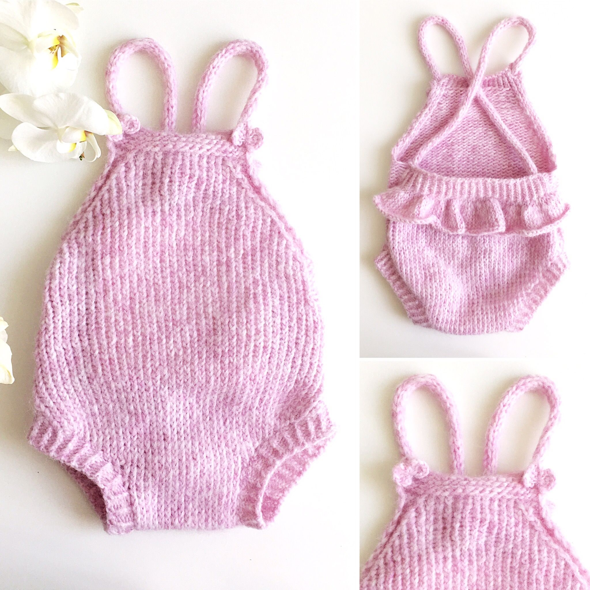 Боди для малышки спицами / Drops Air /Romper | Hand made | Pinterest