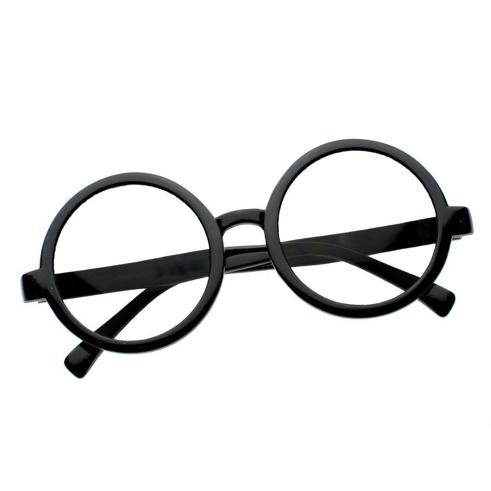 134242da28 Costume Harry Potter Glasses Nerd Bookworm Round Eye Dress Up Halloween a 1   fashion  clothing  shoes  accessories  costumesreenactmenttheater   accessories ...