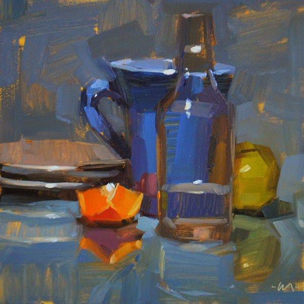 Daily Paintworks Artbyte Fine Art Tutorial Composition Art Painting Oil Art Oil Painting