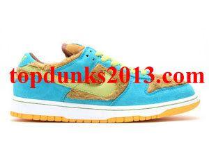 04f266b5e379 Best Price Baby Bear 3 Three Bears Edition Light Umber Grass Hopper Nike  Dunk Low SB Pro