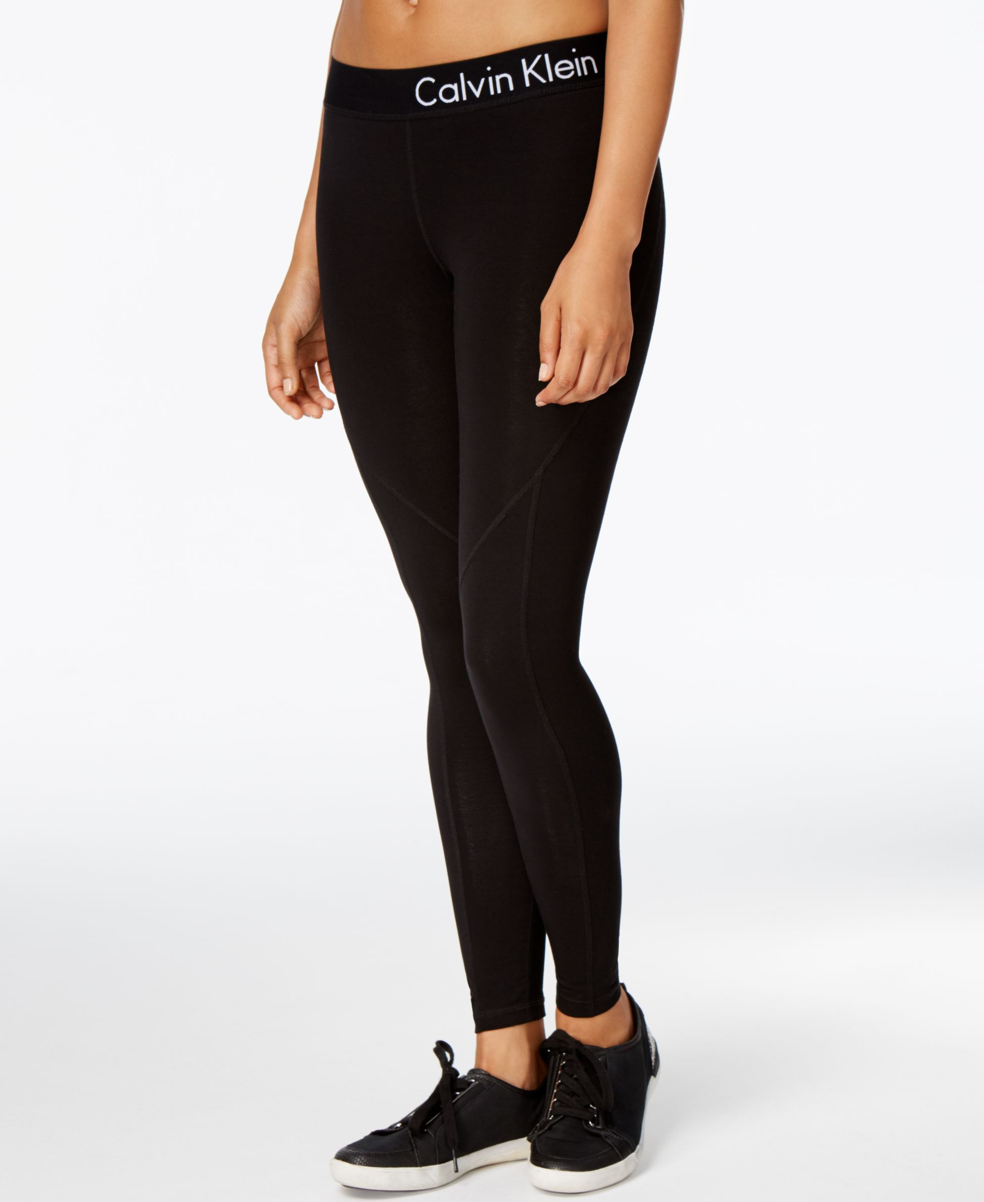 6d7344a969 Creating a great look begins with these Calvin Klein Performance leggings,  featuring sleek style that pairs easily with all your favorite printed tops.