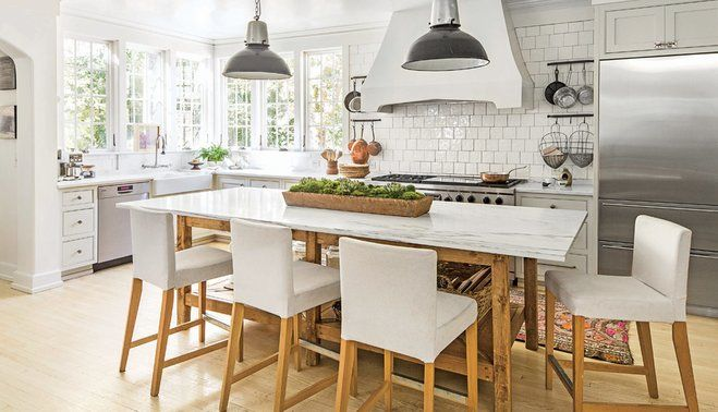 Kitchen inspiration. Breakfast bar / island and gorgeous