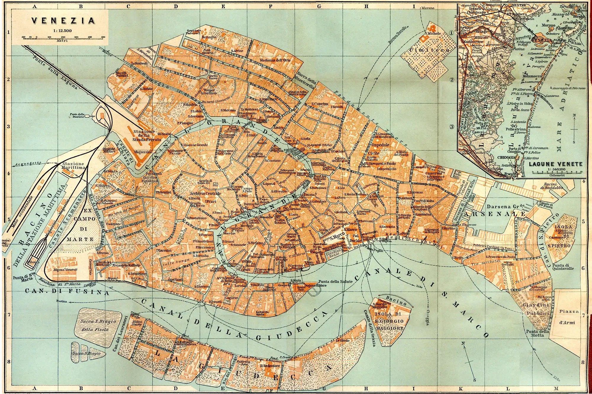 Pin by Rich Ramrod on Maps | Venice map, Antique maps ...