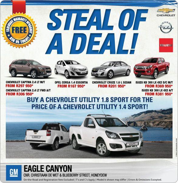 Carfind Specials Chevrolet Captiva Chevrolet Sedan