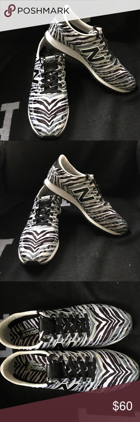 c12ee2630c0 New Balance 420 Black White Zebra 🦓 Print 7.5 M