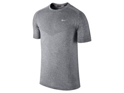 Laufshirt Nike Herren Laufshirt Dri Fit Knit Running Top