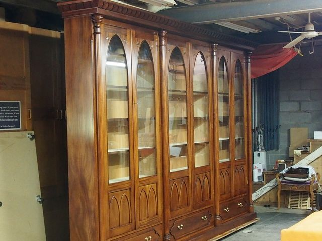 Reproduction Bookcases Solid Timber Bespoke Custom Sydney Melbourne