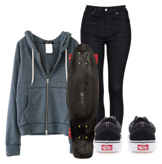 """""""•lame like my face•"""" by rebeccapadilla ❤ liked on Polyvore featuring Topshop, Quiksilver and Vans"""