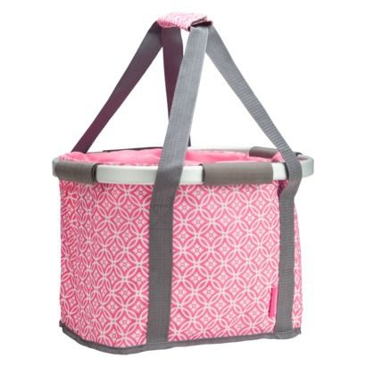 94eb9e65bca Schwinn Collapsible Handlebar Basket- Pink | You Only Turn 50 Once ...