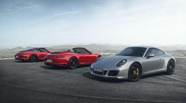 911 Targa 4 GTS, 911 Carrera 4 GTS Cabriolet und 911 Carrera 4 GTS - Autoblog 日本版 提供