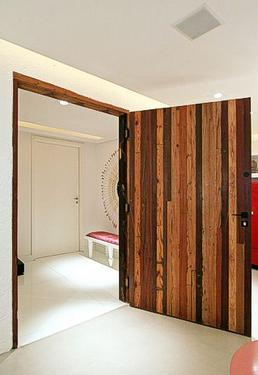 Porta Mexicana Com Ripas Estreitas Designer Doors Pinterest