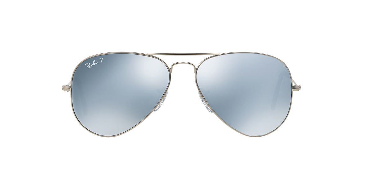 34941406d823f RAY-BAN RB3025 58 ORIGINAL AVIATOR MIRROR COLLECTION SILVER MATTE   SILVER  UPC  8053672016949  200