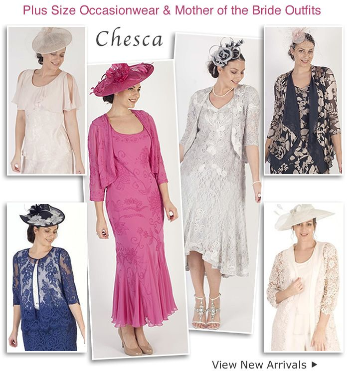 bfe3b81875170 Chesca plus size wedding fashion Mother of the Bride two piece dress and  jacket outfits