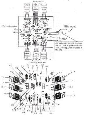 200 watt high quality audio amplifier circuit diagram audio200 watt high quality audio amplifier circuit diagram