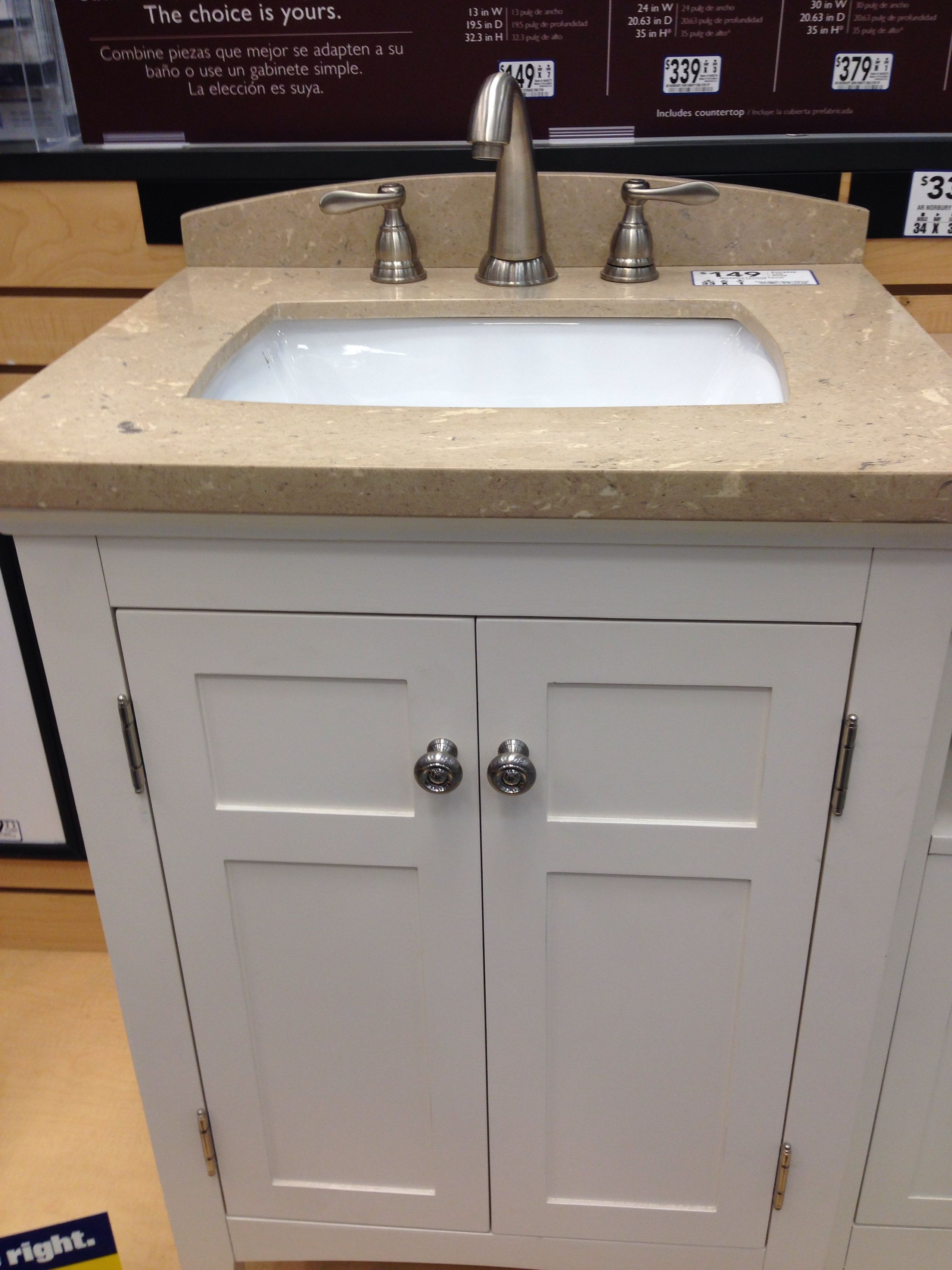Lowes Sink For New Bathroom 2 Of These Side By Side We Have To