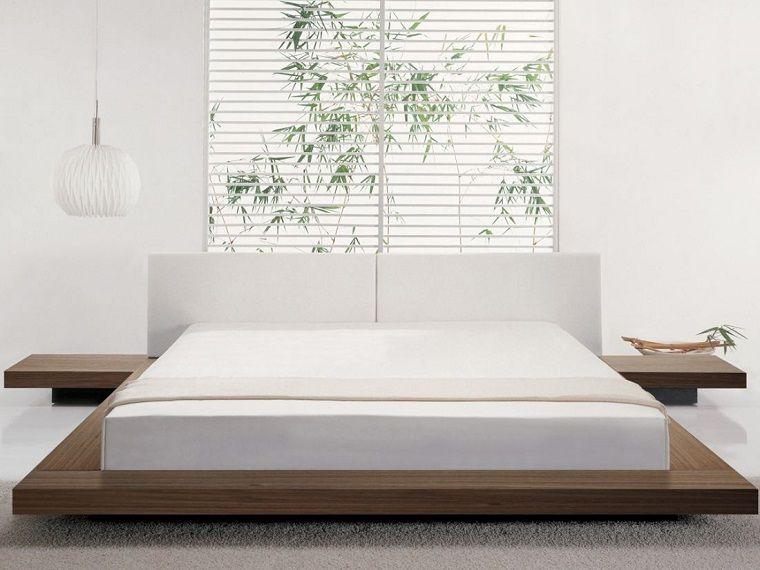 Interiores minimalistas 100 ideas para el dormitorio | Camas grandes ...