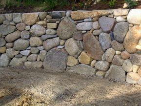 Construir Muro De Piedra Natural