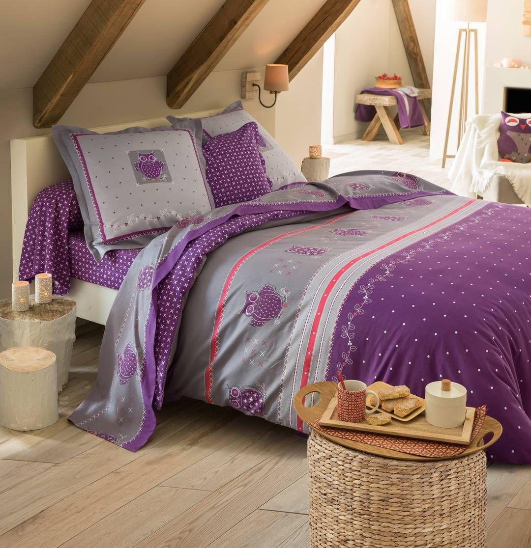 linge de lit françoise saget Linge de lit Chouette douceur par Françoise Saget | lit  linge de lit françoise saget