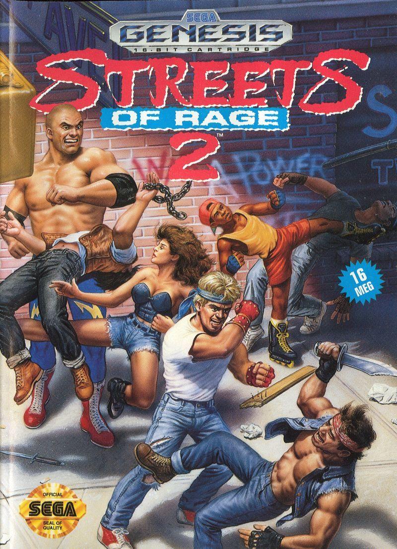 street of rage remake megadrive rom