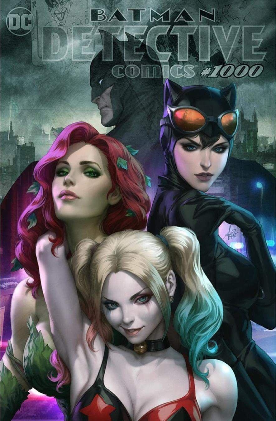 Detective Comics 1000 Gotham City Sirens Variant Detective Comics Dc Comics Art Comics