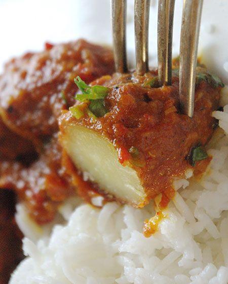 Recette De Curry Indien Aloo Vindaloo En Vidéo Cuisine - Cuisine vegetarienne blog