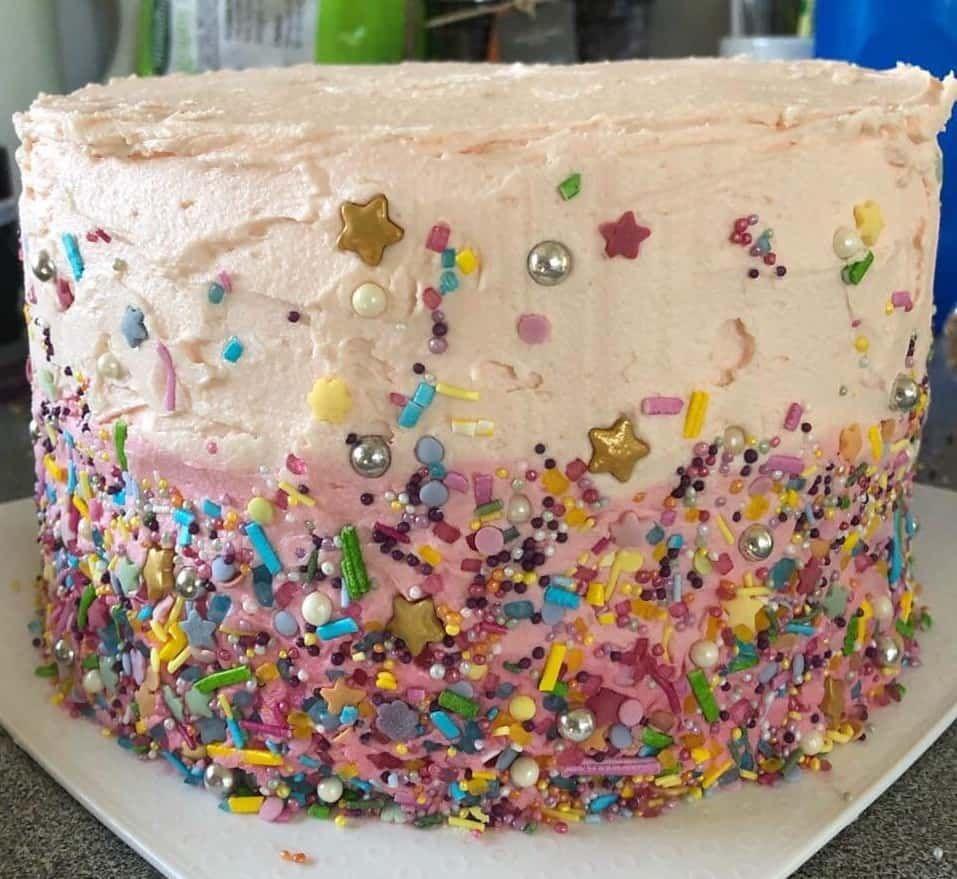 Coles Rainbow Cake Hack Cake Hacks Cake Rainbow Cake