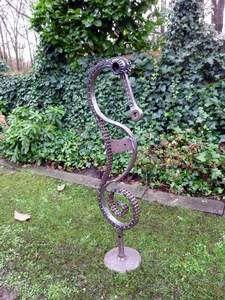 Schrottskulpturen Ulla Brüske: Skulpturen