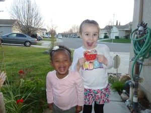 We found a pretty quilted heart hanging on a bush outside Fairytale Town, while on our way to our car after visiting the Sacramento Zoo in Sacramento, California. We were so excited! We love it! #IFAQH  #ifoundaquiltedheart