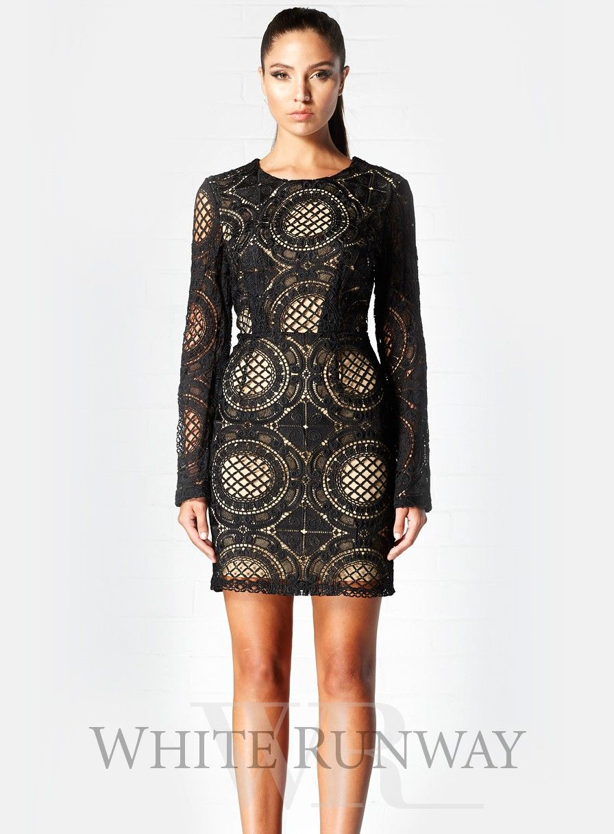 Black dresses for wedding guest  Black Illusion Short Dress by Winona  My Style Pinboard  Pinterest