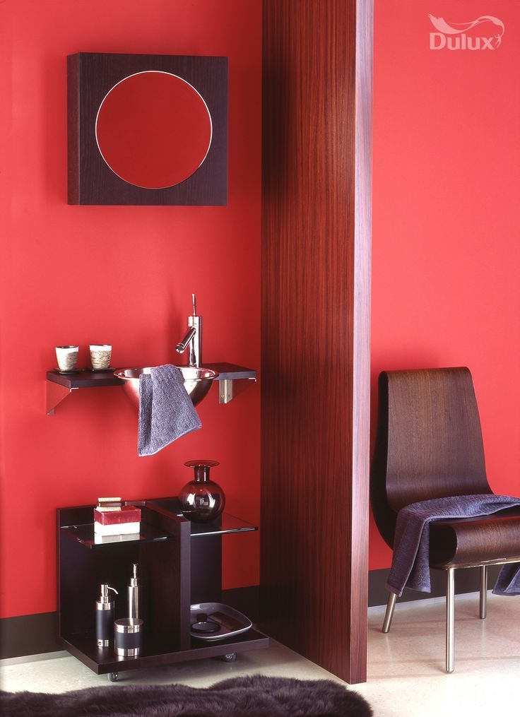 Image result for french stripe red dulux | Bathroom colors ...