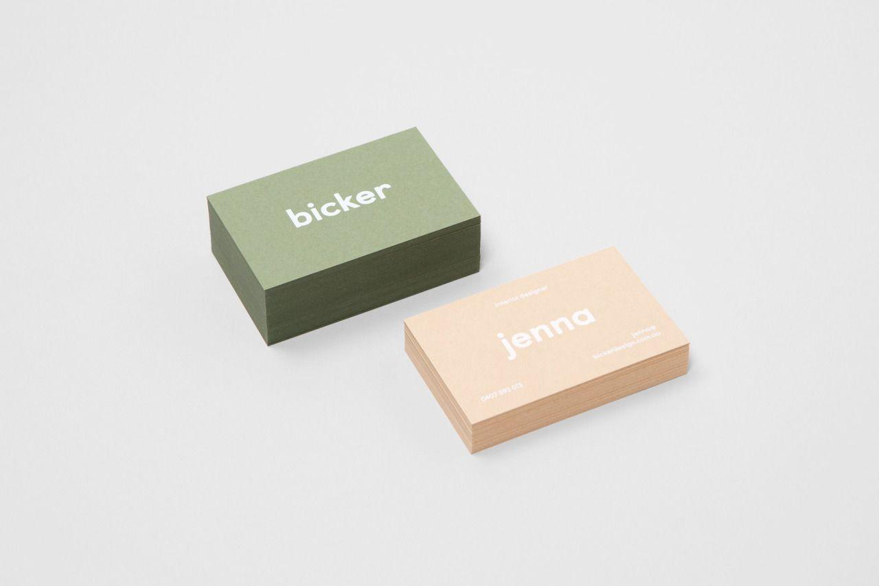 Bicker Identity ○ Studio: Mildred & Duck ○ Location: Australia ○ Client: Bicker ↪