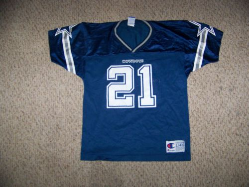 Deion Sanders 21 Dallas Cowboys Football Jersey Youth