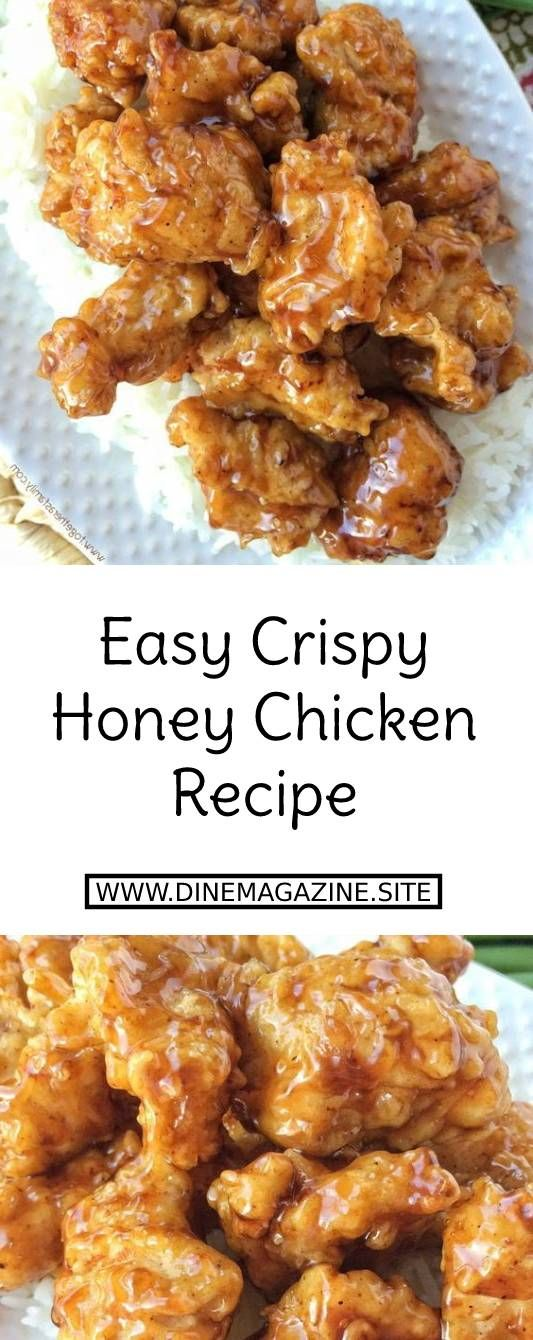 Easy Crispy Honey Chicken Recipe images