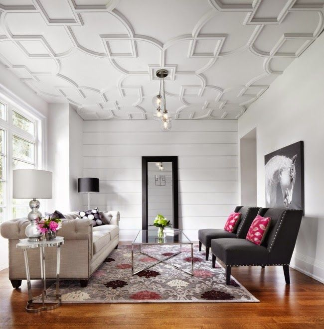 22 False ceiling designs for living room and bedroom interior ...